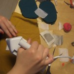 Sewing, stiching, ironing