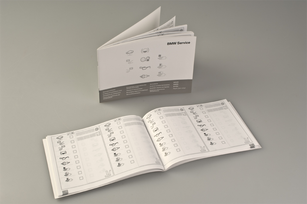 Service Booklet certificates