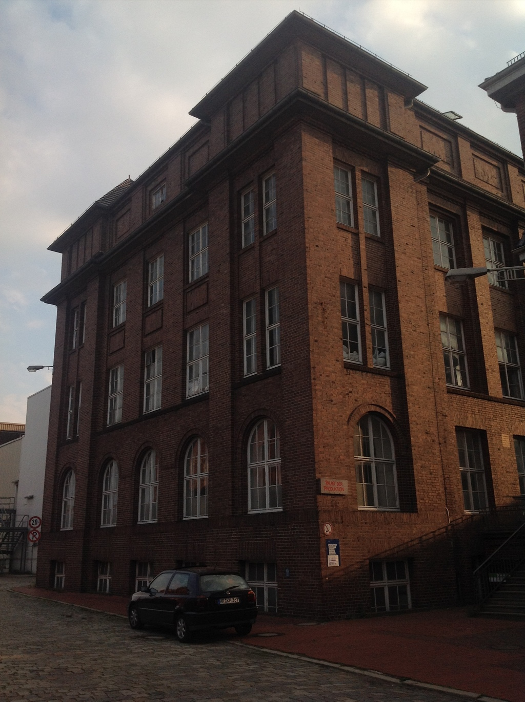 The building on the outside